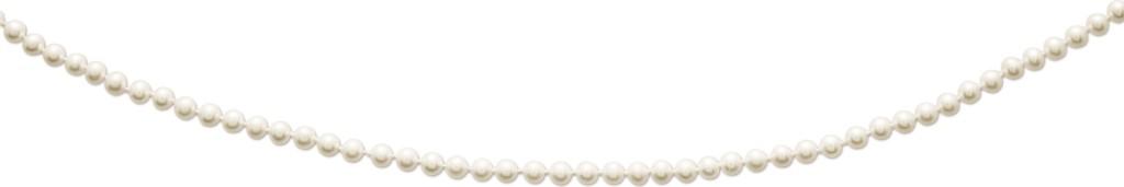 Collier de perles tendance